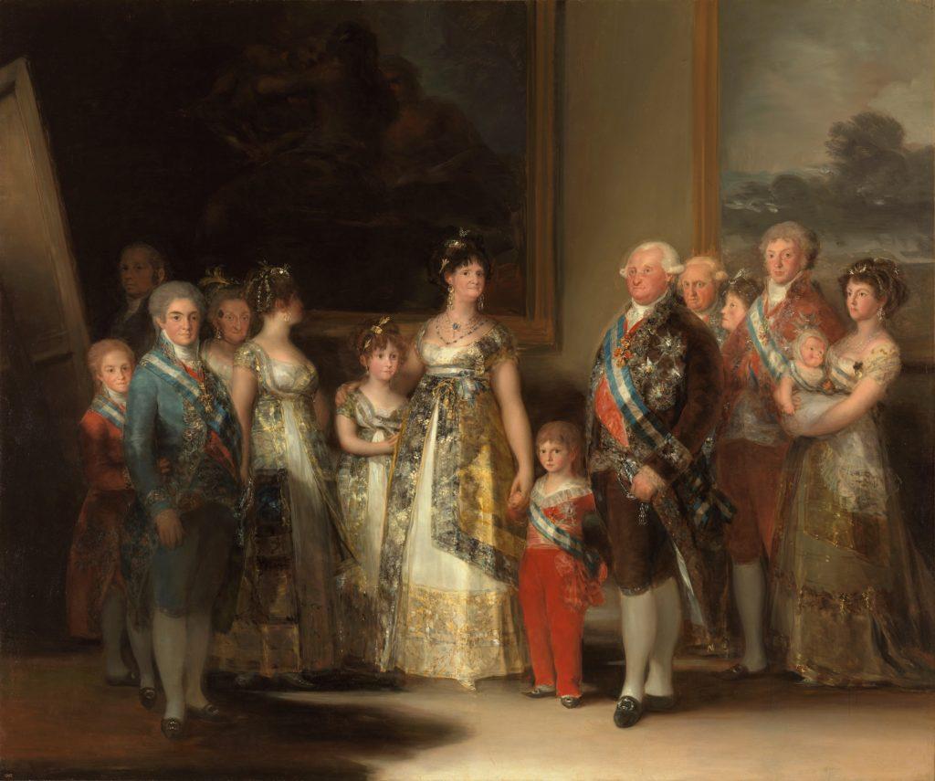 Obraz Francisca Goyu - Charles IV. španielsky a jeho rodina