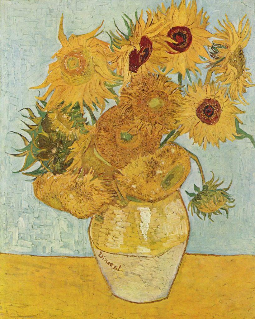 Obraz Vincenta van Gogha s názvom Slnečnice