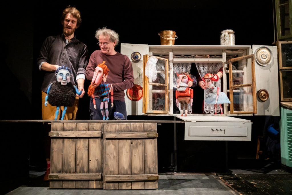 Predstavenie Bratislavského bábkového divadla Popolvár