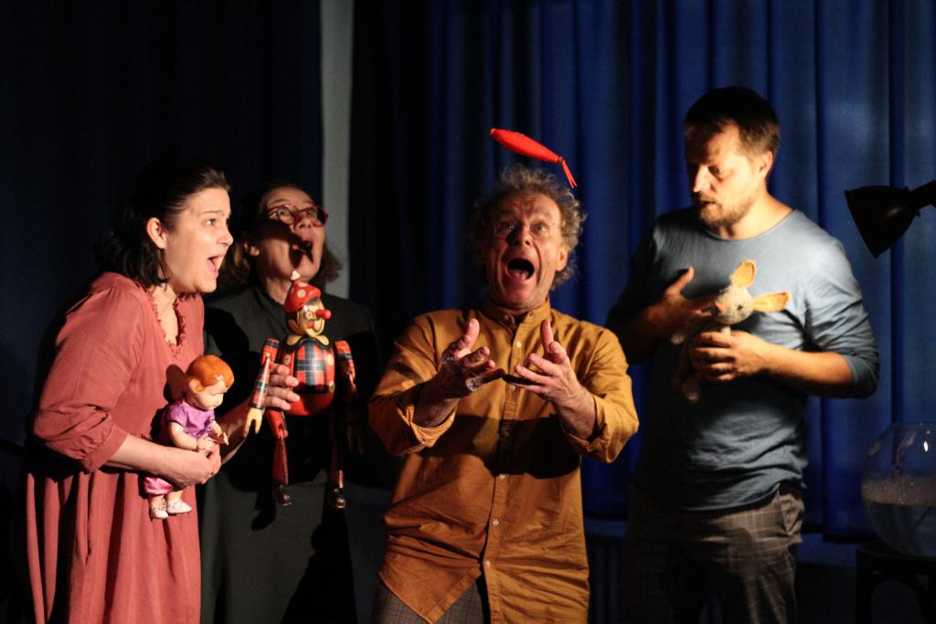 Predstavenie Bratislavského bábkového divadla Rozprávky o malej tučnej víle