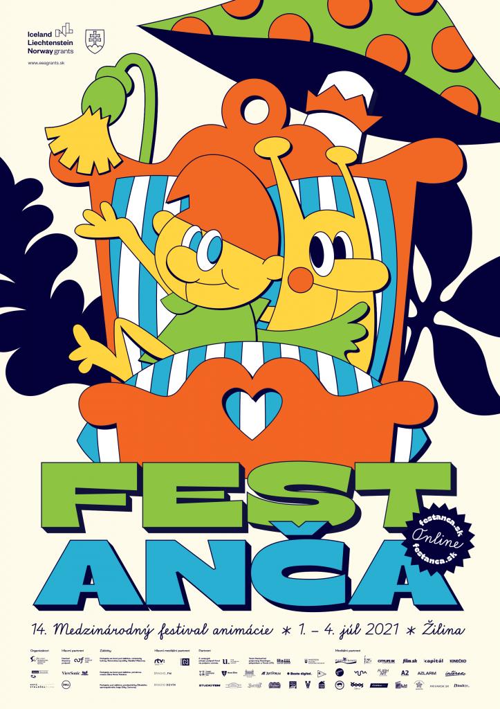 Plagát Anča festu 2021